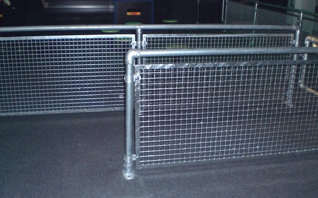 Indoor Race Track Guardrails And Barriers