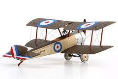 Airfix 1/72 Sopwith Pup (migrant_60) Tags: pup rigging sopwith biplane 172 airfix rnas