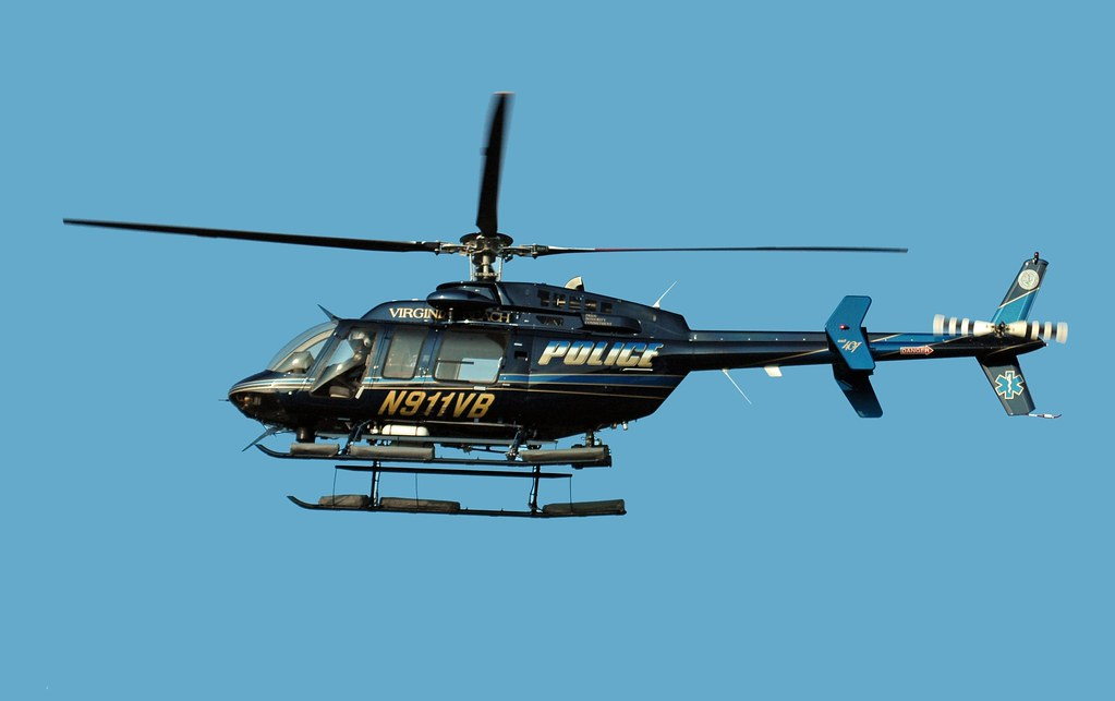 Virginia Beach Police Helicopter