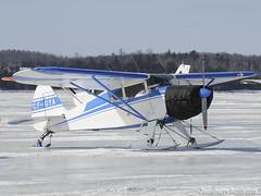 CF-GYA DSC_1127 (djipibi) Tags: winter snow ski ice plane mos river airplane aircraft aviation hiver ottawa rivire mo chez neige avion rendezvous flyin glace rva arien outaouais luskville ayelmer