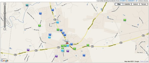 Waxhaw Crime Report February 2011
