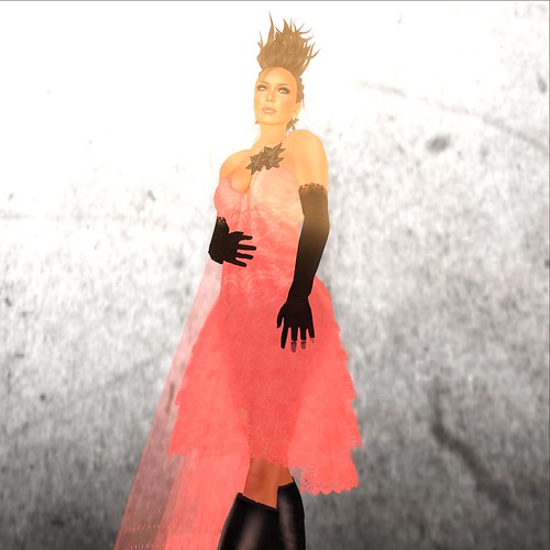 Moolto Hunt: Angel Dessous (dress)