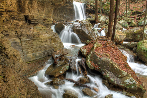 Emory Gap Falls - Frozen Head