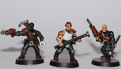 Necromunda Gang - Gangers (Ricky Robson) Tags: games workshop specialist