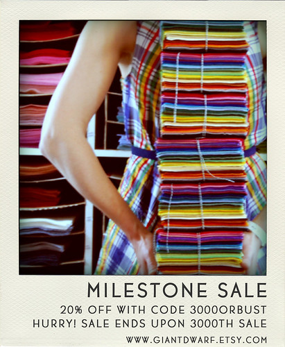 Milestone Sale // 3000 Sales Or Bust