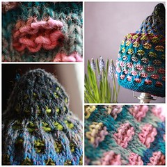 A Hat in Blossom (infusionn) Tags: hat knitting handmade knitted 221 kureyon noro 259