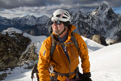Matt Murray high on Lobuche