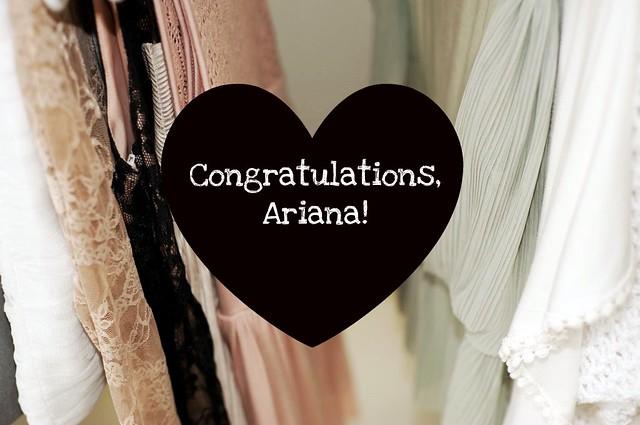 Congrats & Stuff