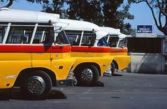 Malta routebus trio - Saqqajja bus terminus (E185sevenpointfour) Tags: bus malta rabat mdina saqqajja routebus
