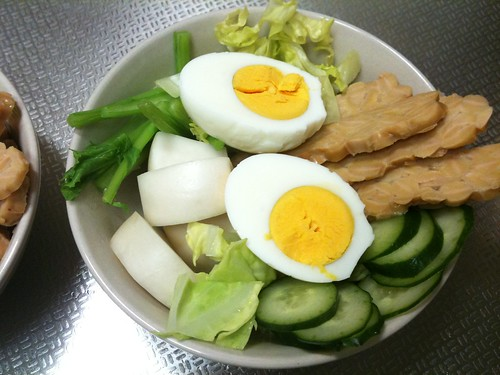 朝食サラダ(2011/3/4)
