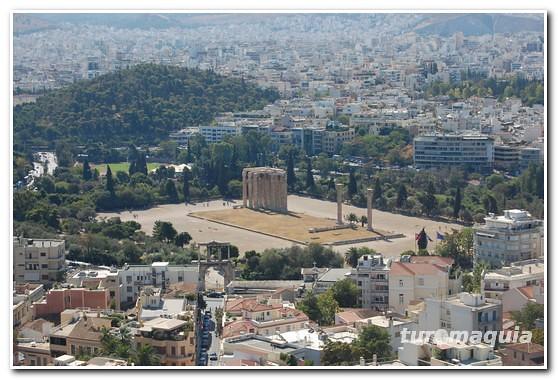 Vistas Acropole Atenas