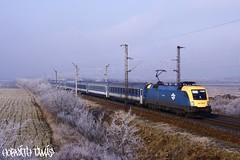 1047 002-9, 29.12.2008, Hegyeshalom (mienkfotikjofotik) Tags: eisenbahn rail railway magyar taurus bahn mv 1047 vast es64u2 llam vasutak