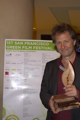 Fredrik Gertten wins Green Tenacity Award