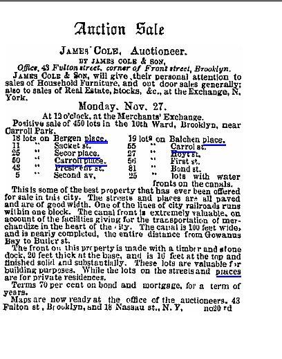 Eagle, November 23, 1854