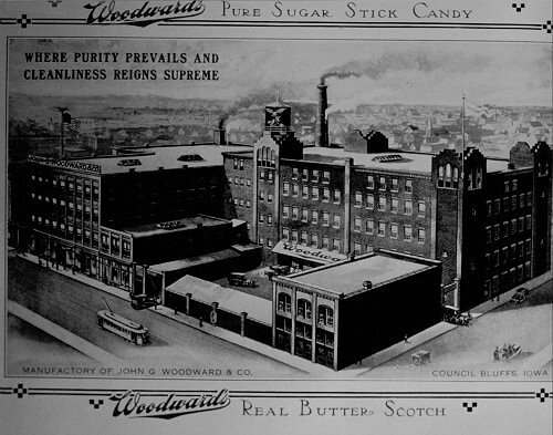 Woodward's Candy Factory - Council Bluffs, IA.