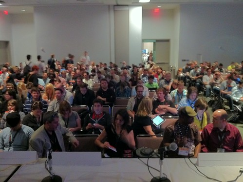 Room 12b: Gamechanging! With @tempo and lots of people! #sxsw