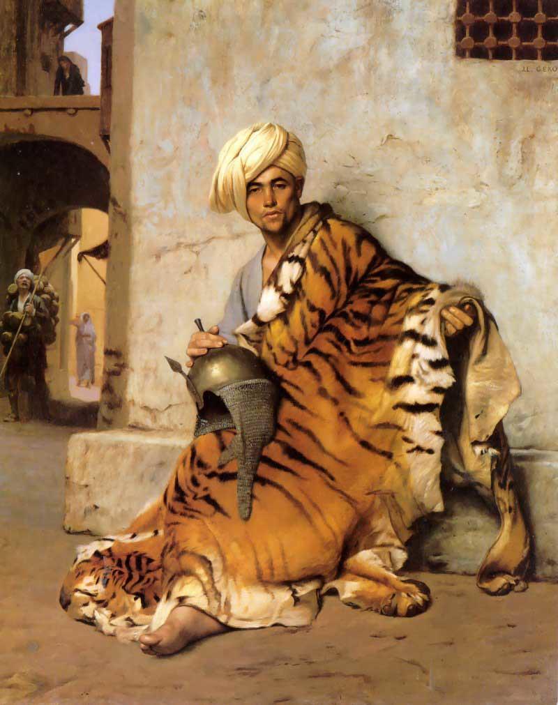 pelt_merchant_of_cairo-huge Jean-Léon Gérôme