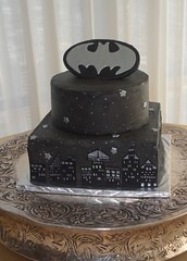 "Batman grooms cake • <a style=""font-size:0.8em;"" href=""http://www.flickr.com/photos/60584691@N02/5524767253/"" target=""_blank"">View on Flickr</a>"