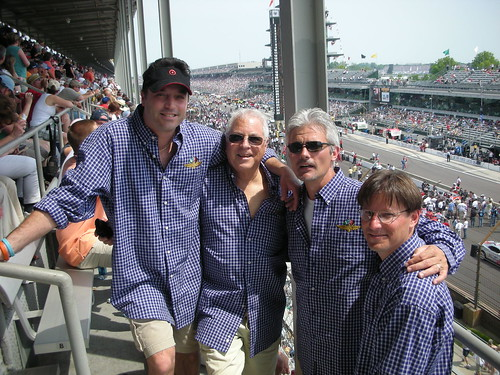 Mike Mott, Brickyard 400 Fan