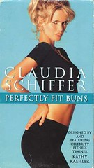 claudia schiffer celeb-workout-video