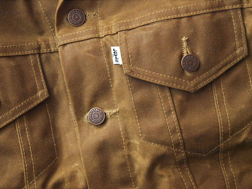 Filson x Levi's / Oil Finish Trucker Jacket