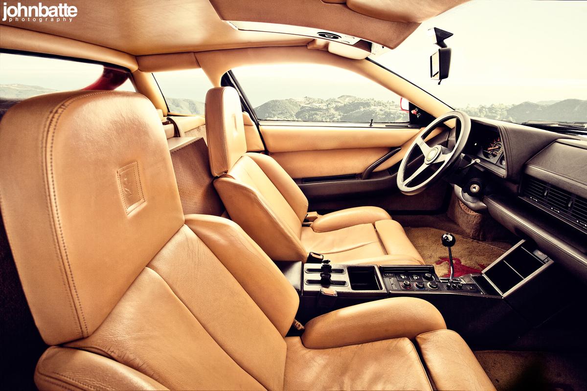 Ferrari Testarossa Interior Pictures