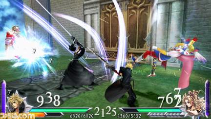 Dissidia Duodecim 012 Final Fantasy Gear, AP, KP Guide