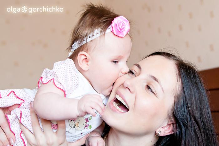 Фотосессия Киры (4,5 месяца)
