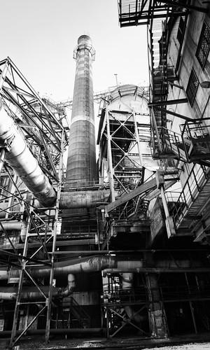 Kremikovtzi inside iron factory complex
