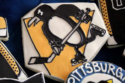 Pittsburgh Penguins cookies.