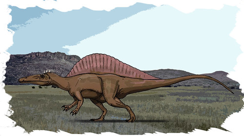 Spinosaurid by Ezequiel Vera