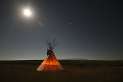 Tipi (Alberta Parks) Tags: tipi shelter firstnations writingonstoneprovincialpark landscape culture prairie history