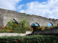 Saint-Polycarpe - Aqueduc de l'abbaye (Fontaines de Rome) Tags: aude saintpolycarpe saint polycarpe aqueduc abbaye