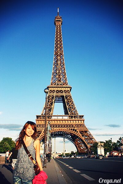 2016.10.09 ▐ 看我的歐行腿▐ 艾菲爾鐵塔,五個視角看法國巴黎市的這仙燈塔 16