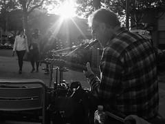 'Til the Sun Goes Down (Tim Roper) Tags: street muscian music blues guitar sunlight low key