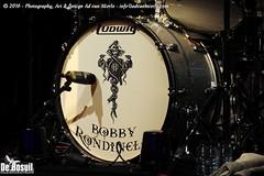 2016 Bosuil-Axel Rudi Pell 1-drumstel Bobby Rondelli