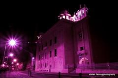 10-IMG_7914 Temple Glasgow (marinbiker 1961) Tags: nighttime charingcross glasgow 2016 lights nightphotography pink outdoor building