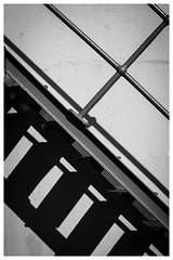 Shadow steps (Johnbasil1) Tags: bw blyth iron shadow contrast abstract helios44m vintagelens manual fujifilmxe1 light