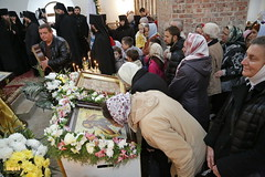 152. Church service in Svyatogorsk / Богослужение в храме г.Святогорска 09.10.2016