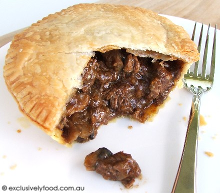 Exclusively Food: Beef and Mushroom Pie Recipe