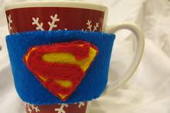 clark kent's coffee cozy