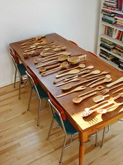 7 feet of wooden spoons (hownowdesign) Tags: home kitchen wooden spoon collection collecting spoons kitchenware collected woodenspoons abbeyhendrickson aestheticoutburst hownowdesign