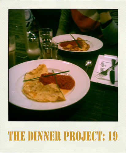 the dinner project: kw 3