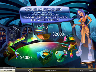 free Greatest Odyssey slot bonus game 2