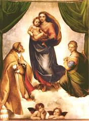 Raffael, Madonna Sistina