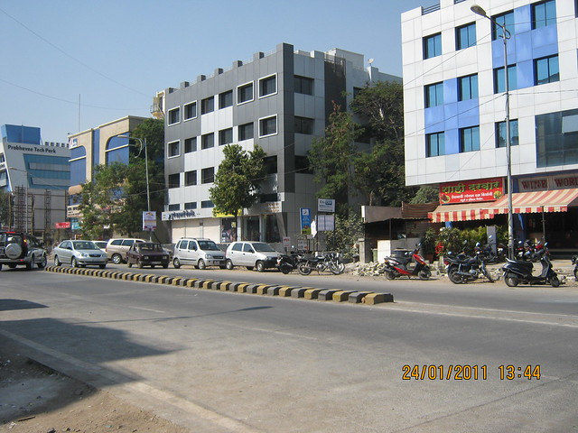 Prabhavi Tech Park and commercial complexes on Baner Road, Pune 411 045