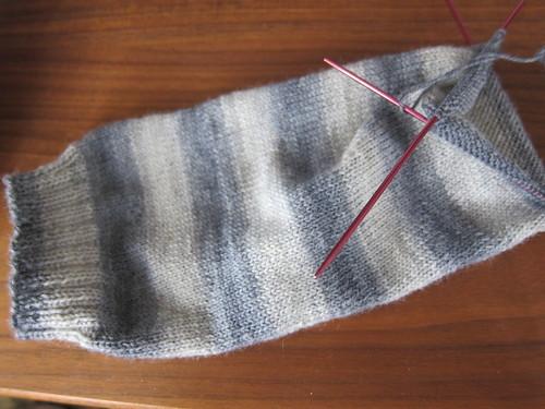 Amsterdam Socks in Progress