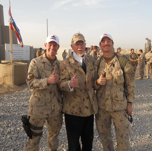 Canadian Troops and Don Cherry