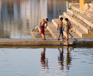 lago sacro  Pushkar