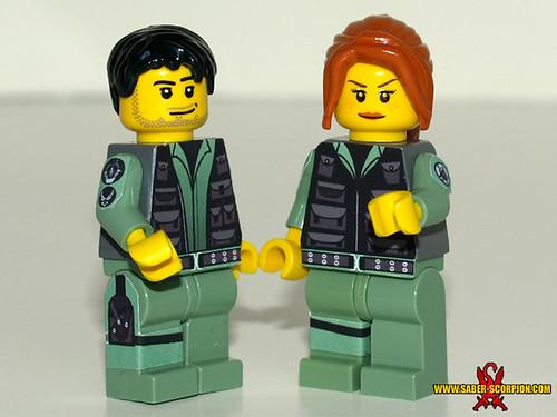 Custom minifig stargate custom lego minifigures